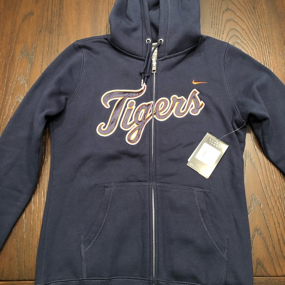 huge selection of c5277 75d84 NWT — Nike Detroit Tigers Zip Up! Never Worn! NWT